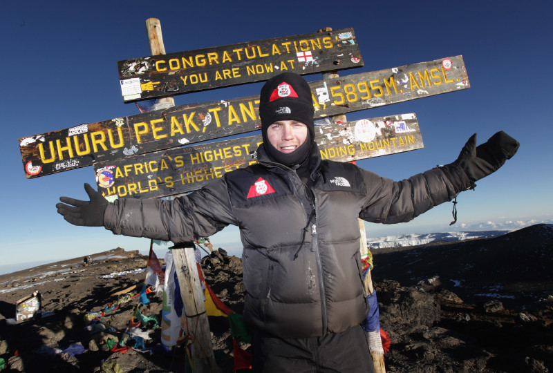Celebrities Climb Mount Kilimanjaro For Comic Relief - Day 7