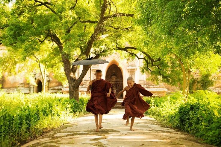 Buddhists Burma