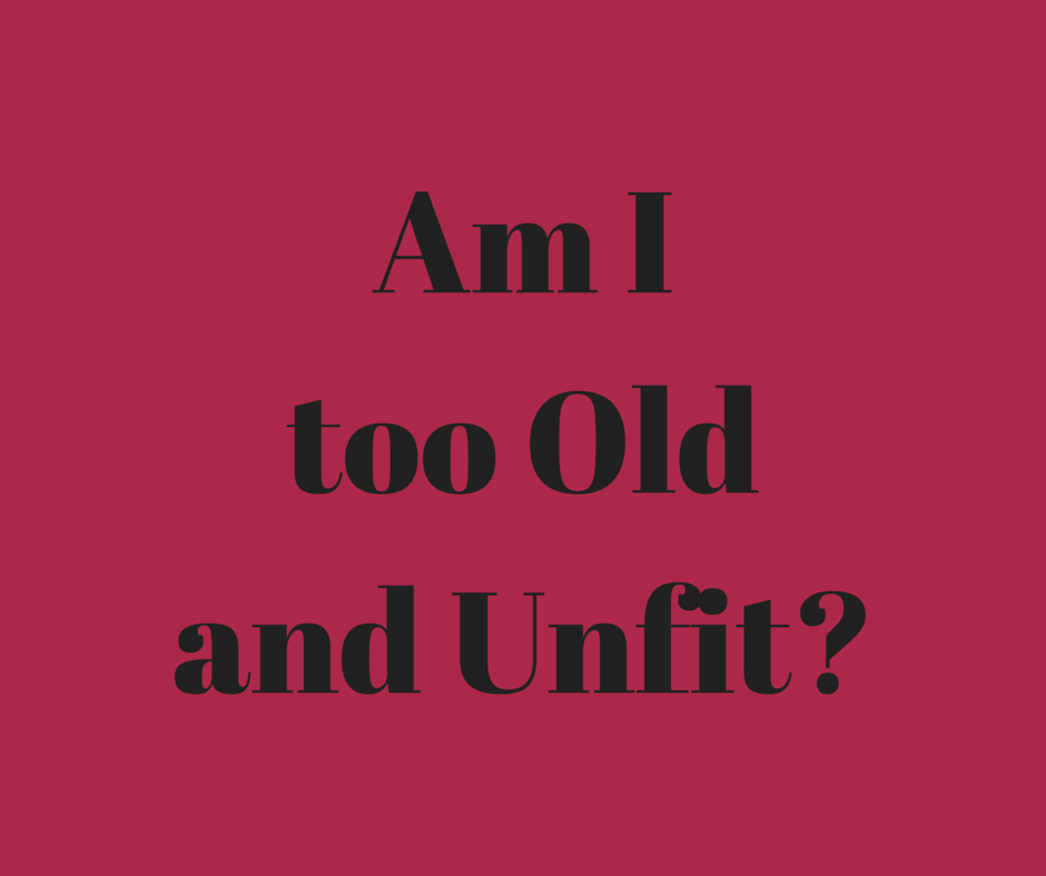 Am I too unfit blog