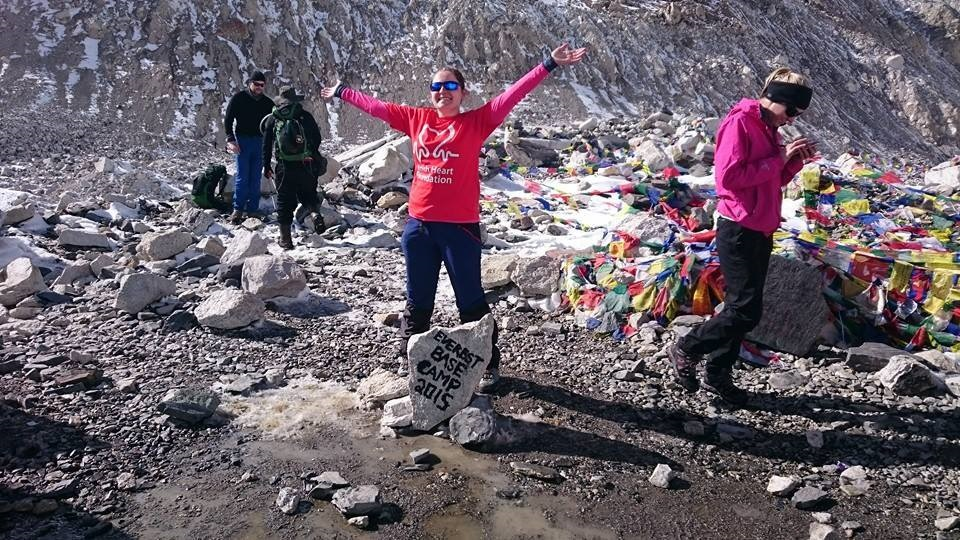 Iona Nelson Everest Base Camp