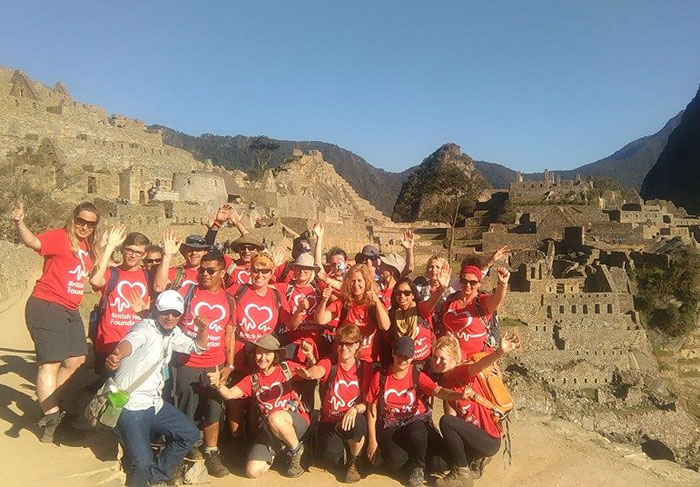 British Heart Foundation Machu Picchu