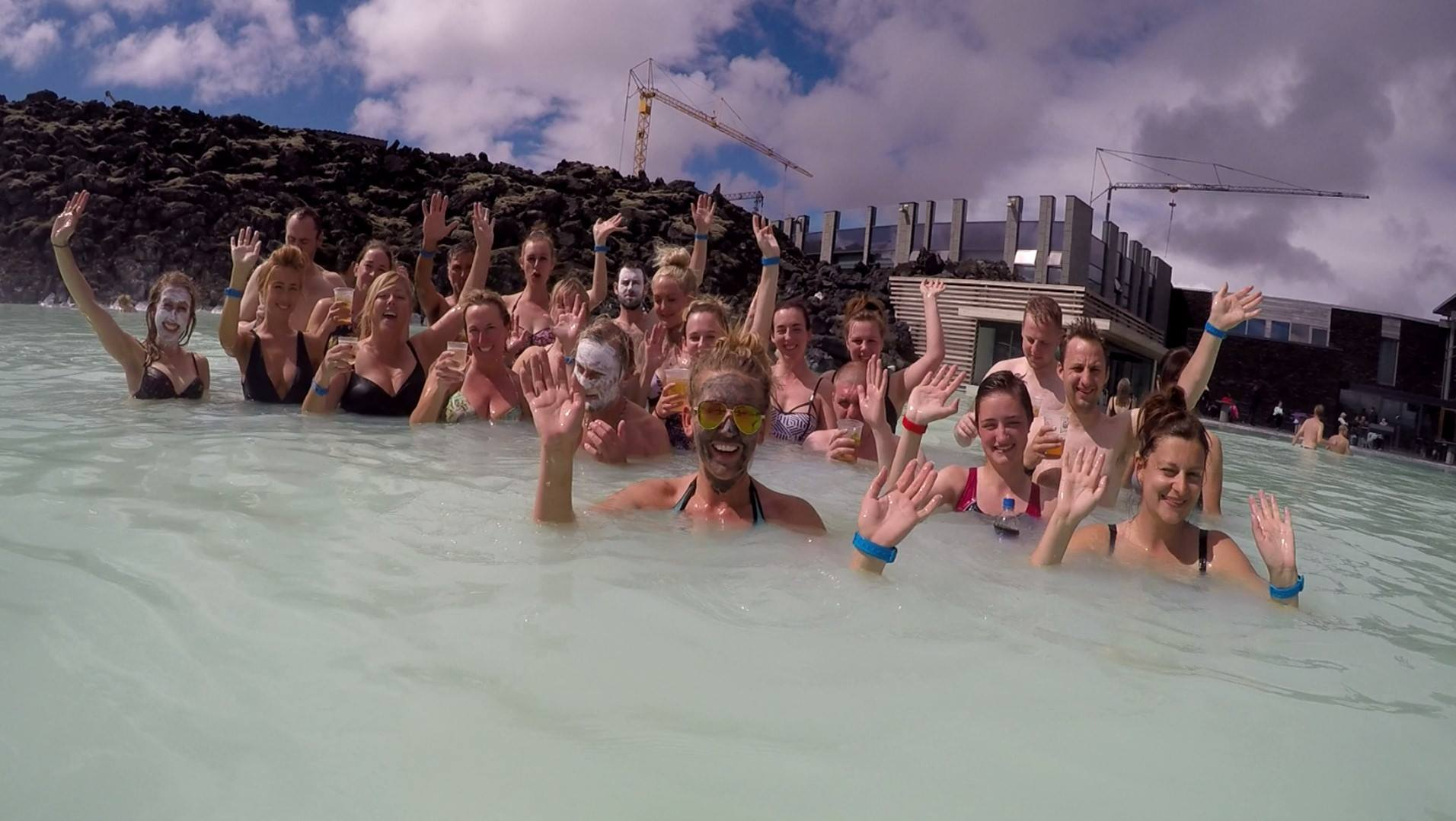 Celebrations at the Blue Lagoon