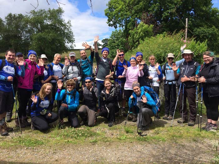 Offa's Dyke Mind Hike Group