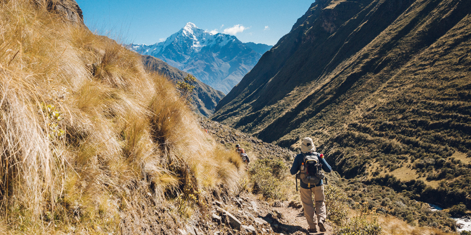 Trekking Ancascocha trail to Machu Picchu Peru for Charity Challenge