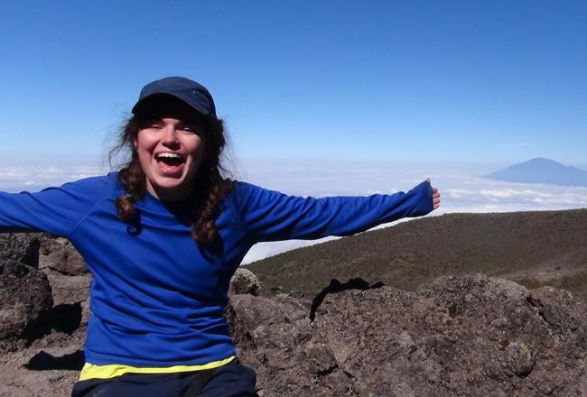 Sarah Kilimanjaro Charity Challenge team