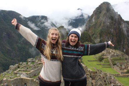 Charity Challenge team Sarah Caroll Machu Picchu