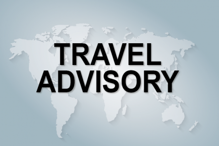 Travel advisory