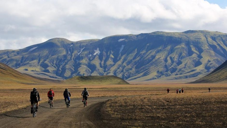 Icelandic Fire and Ice Cycle