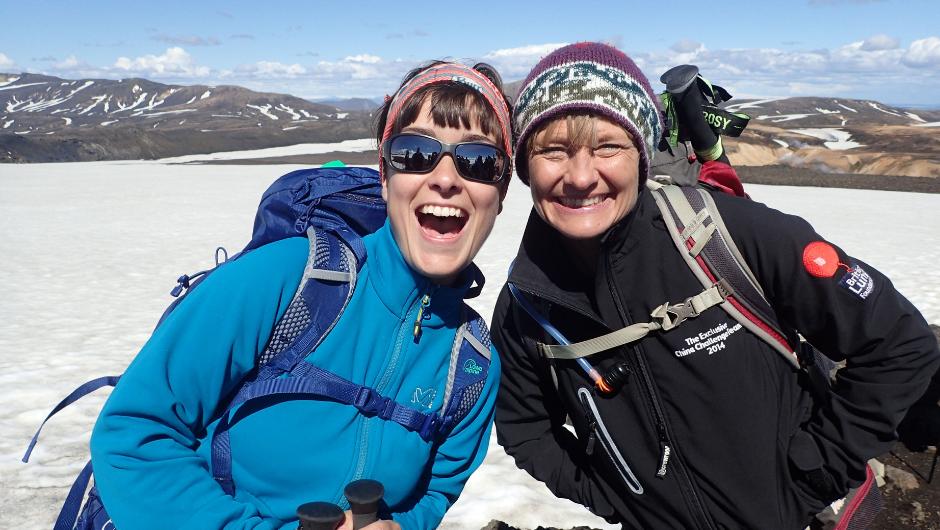 Charity Challenge - Icelandic Lava Trek